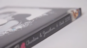 Book photo du mariage de Charlene et Jonathan (2011)